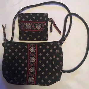Vera Bradley retired pattern purse and wallet